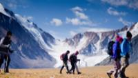 Trekkers explore the vast, pristine landscape of Mongolia |  <i>Cam Cope</i>
