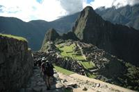 Beautiful view of Machu Picchu