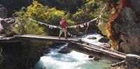 River Crossing in Bhutan