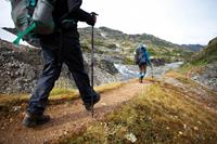 Retracing the steps of the Stempeders' route over the Chilkoot Pass. Image credit: Mark Daffey