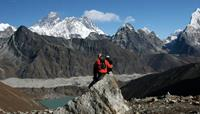 Gokyo Lakes on Everest High Passes trek - World Expeditions