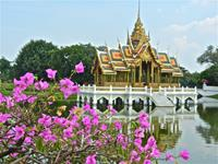 Ground of the Kings Summer Palace, Thailand.
