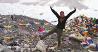 Happy Trekker at Everest Base Camp