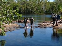Helpful guides on the Jatbula Trail, Northern Territory, Australia