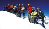 Mountaineers in Nepal