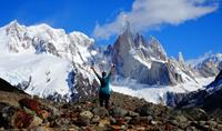 Trekking in Patagonia's backcountry