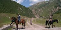Off road cycling holidays: Kazakhstan & Kyrgyzstan with World Expeditions