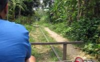 Take a ride on the bamboo train in Battambang - Things to do in Southeast Asia ©oldandsolo