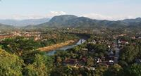 The laid-back village of Luang Prabang is great for slowing down