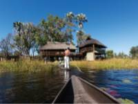 Enjoy a traditional mokoro ride on the Okavango Delta |  <i>Peter Walton</i>