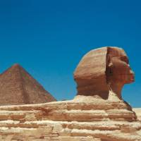 The Sphinx, constructed somewhere between 2520 BC and 2494 BC | Sue Badyari