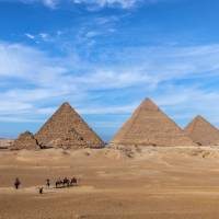 The magnificent Pyramids of Giza | Richard I'Anson