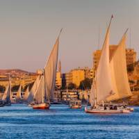 Sail down the Nile on a traditional Felucca | Richard I'Anson