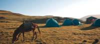 Our campsite on trek in Ethiopia's Simien Mountains | Aran Price