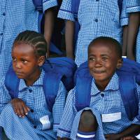 Students at Aberdare Ranges School, Kenya |  <i>GVN Foundation Australia</i>