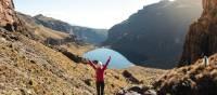 Trekking on Mount Kenya   Lauren Bullen