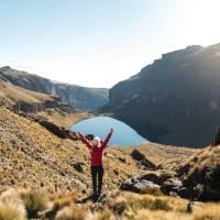Trekking on Mount Kenya | Lauren Bullen