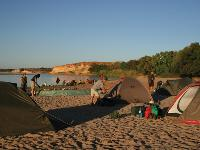 Camping beside Manambolo River, Madagascar -  Photo: Janet Oldham