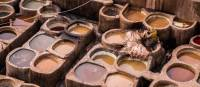 A visit to the leather tanneries is one of the many highlights when in Fez | James Griesedieck