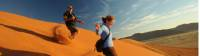 Sossusvlei is an area of enormous sand dunes |  <i>Andrew Thomasson</i>