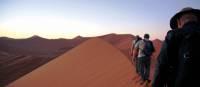 Trekking across the breathtaking Sossusvlei dunes, Namibia | Gesine Cheung