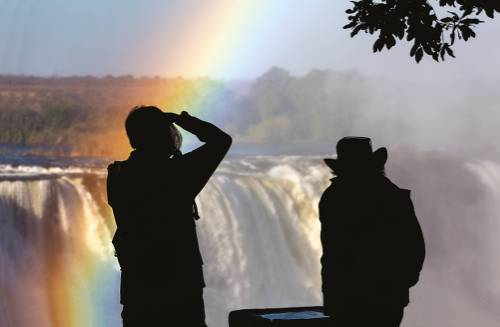 Photographic opportunities abound at Victoria Falls&#160;-&#160;<i>Photo:&#160;Peter Walton</i>