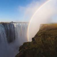 Breathtaking views over the big and beautiful Victoria Falls   Peter Walton