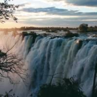 Victoria Falls at the border of Zambia and Zimbabwe   Carolina De Figueiredo