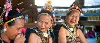 Iban women in traditional dress | David Kirkland
