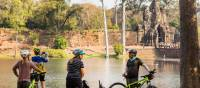 Cycling is a great way to take in even more of the ruins of Angkor Wat | Lachlan Gardiner