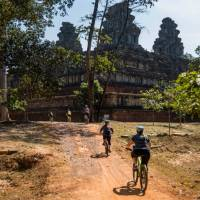 Exploring the ruins of Angkor Wat by bike is a unique way to discover the UNESCO listed site   Lachlan Gardiner