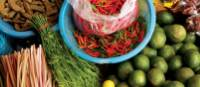 Sample the fresh local market produce during a meal in Cambodia | Scott Pinnegar