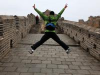 More than just walking along the intriguing Great Wall of China. |  <i>Su Zhi Wei</i>