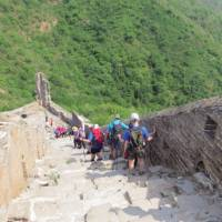 Time to descend the massive Great Wall | Victoria Earl