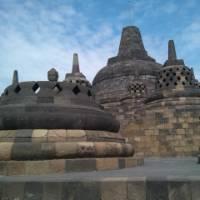 The architecture of Borobudur