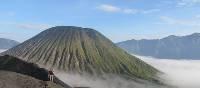 Climbing Bromo Volcano