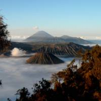 Views over Bromo Volcano
