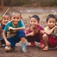 Local boys in Laos | Peter Walton