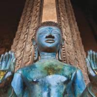 Buddha statue in Vientiane | Peter Walton