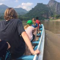 Cruising the mighty Mekong on a family adventure in Laos | Kate Harper