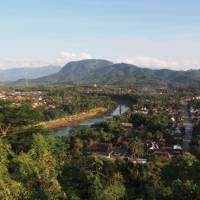 Breathtaking views over Luang Prabang | Kylie Turner