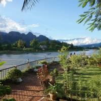 The Mekong River, Vang Vieng | Anne Corbett