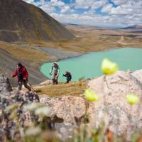 Spectacular glacial lake in Mongolia   Cam Cope