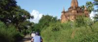 Cycling around the ancient temples in Bagan, Myanmar   Caroline Mongrain