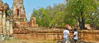 Admiring a historical park in Thailand   Sue Badyari