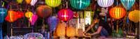 Coloured lanterns in the streets of Vietnam |  <i>Richard I'Anson</i>