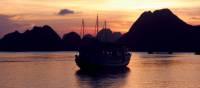 Lively orange sunset over Vietnam | Alana Johnstone