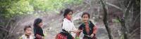Local village girls in Sapa, Vietnam