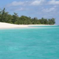 Beautiful coastline of East Timor