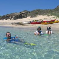 Take a dip in the clear blue waters of the Yasawa Islands during our kayaking adventure | Al Bakker